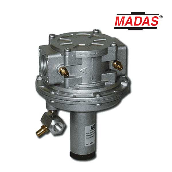 Regulador de proporcion aire gas AG04R para equipos de combustión madas