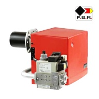 Quemadores duales para gas natural y diesel para hornos GMX4- TL FBR