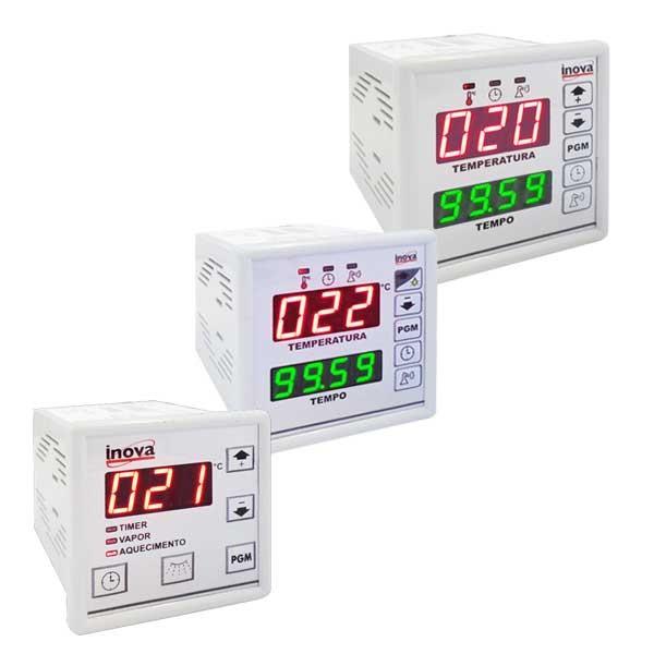 controladores de tiempo y temperatura para hornos invova