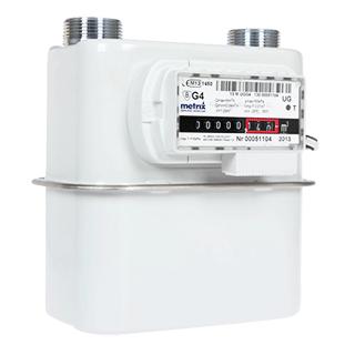 Medidor de gas domiciliario diafragma Metrix G4 STI Ltda