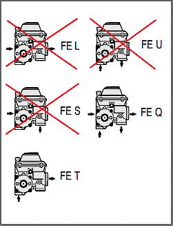 regulador de presion FE pietro fiorentini conexiones