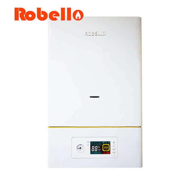 Calderas doble servicio acs calefaccion Robello