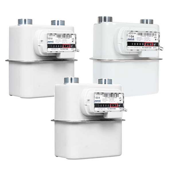 medidores de gas domiciliario tipo diafragma metrix