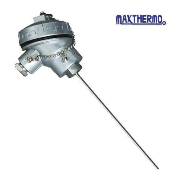termocuplas tipo k con cabezal mt-107 maxthermo