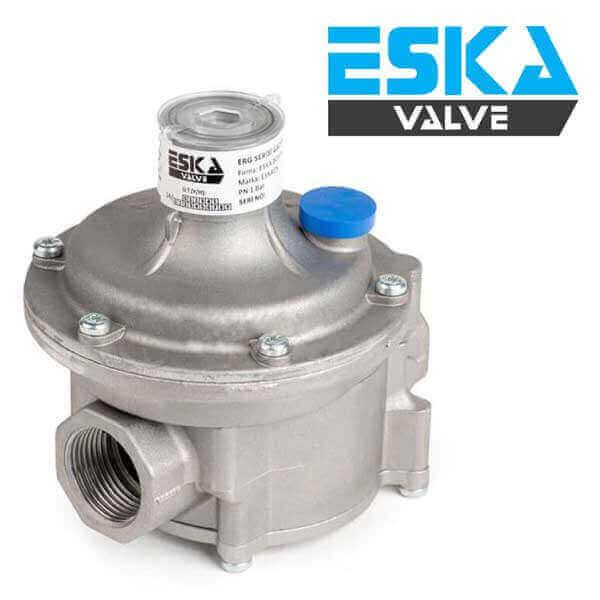 regulador de presion para gas ERG Eska Valve