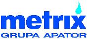 Logo Apator Metrix medidores de gas natural tipo diafragma