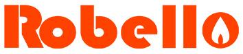Logo Robello calderas de un servicio y doble servicio para gas natural y GLP para calefaccion central