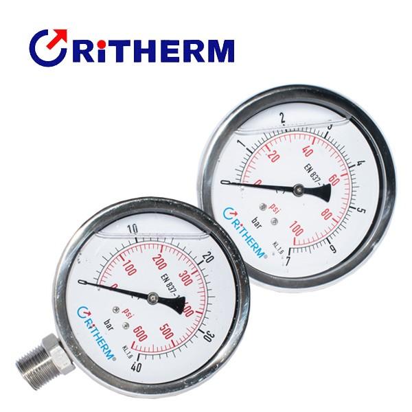 manometros-tipo-capsula-con-glicerina-alta-presion-ritherm