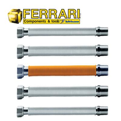 kit-tubos-flexibles-acero-inoxidable-agua-gas-calderas-calefaccion-acs-ferrari